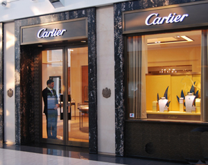 Dubai Shopping Cartier