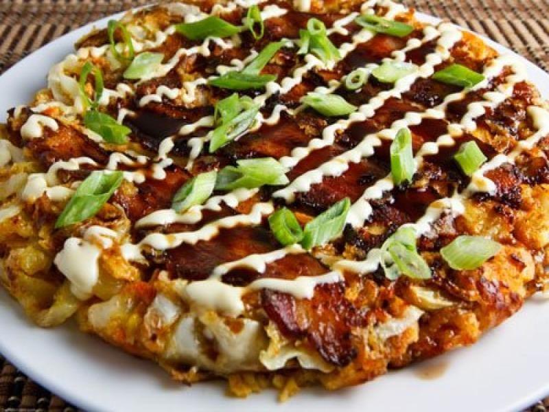 In search of okonomiyaki, the addictive Japanese pancake ...
